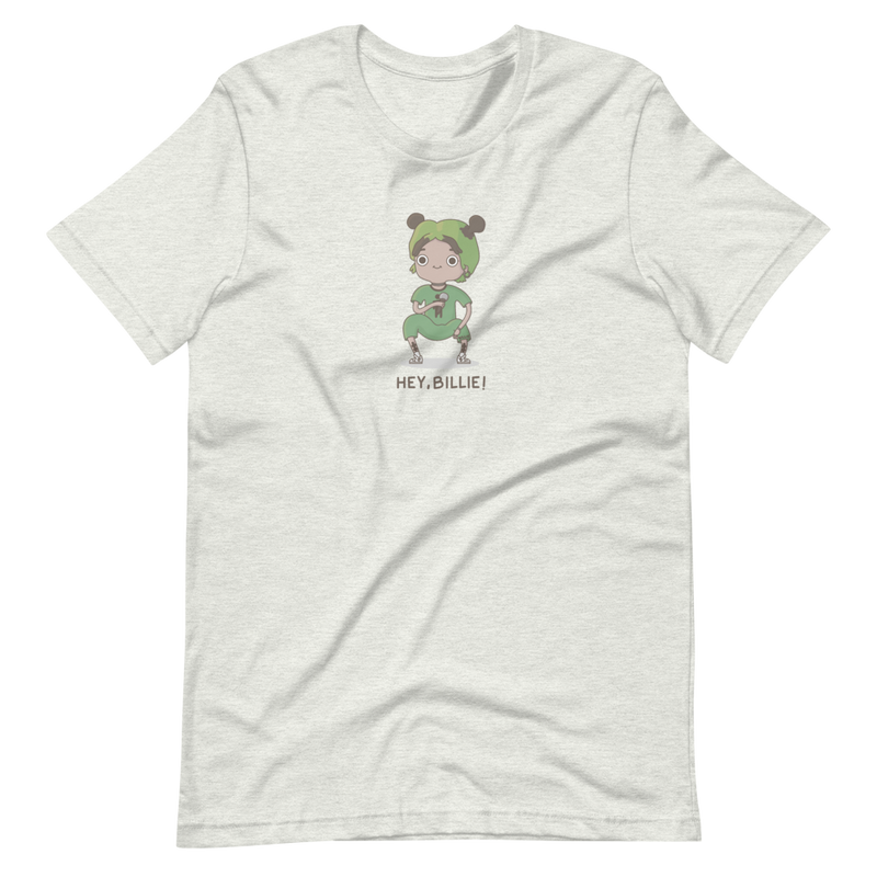 Camiseta 'Hey, Billie!' (manga corta unisex)