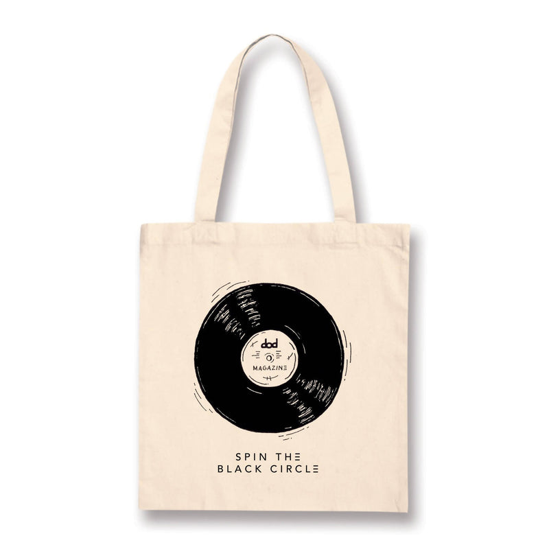 Tote bag de dod Magazine - Spin the black circle