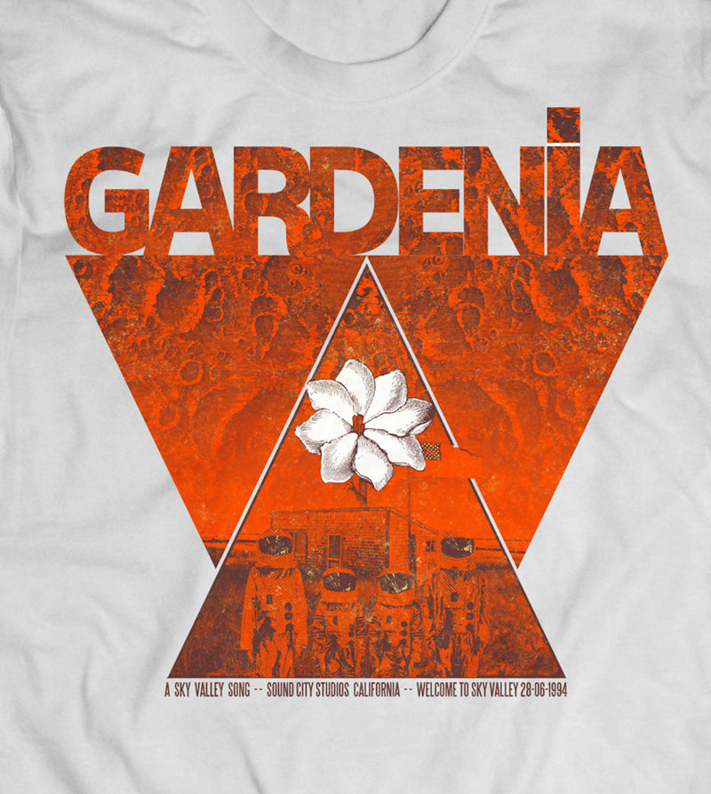 "Camiseta Gardenia ""A Sky valley Song"""