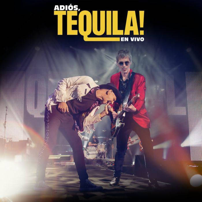 Doble CD + DVD de Tequila - Adios Tequila en vivo