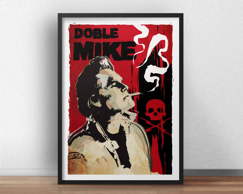Poster Doble Mike película Death Proof