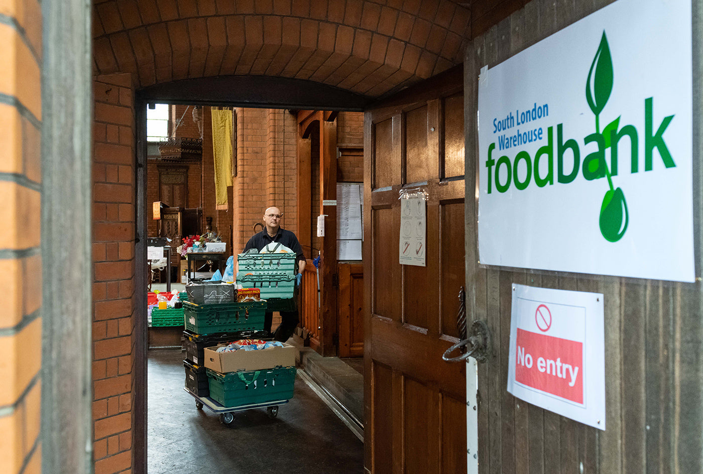 Vauxhall Food Bank - Hande