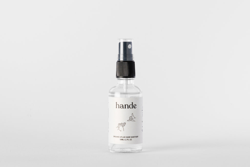 Organic Atlas Hand Sanitiser 50ML Spray - Hande