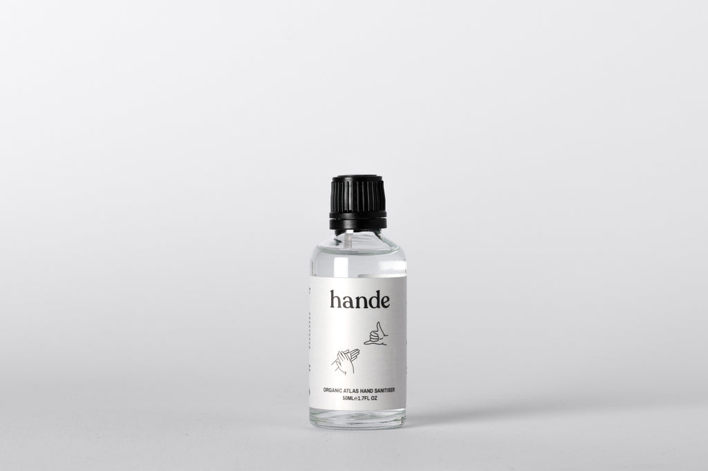 Organic Atlas Hand Sanitiser 50ML Dropper - Hande
