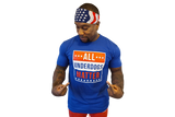 T-Shirt:  All Underdogs Matter (Blue)