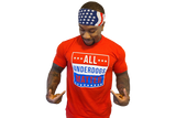 T-Shirt:  All Underdogs Matter (Red)