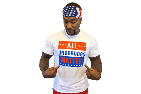T-Shirt:  All Underdogs Matter (White)