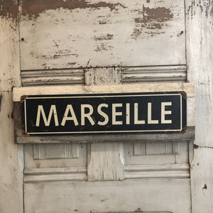 French Street Signs