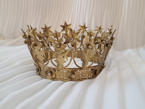 Gold Decorative Crown