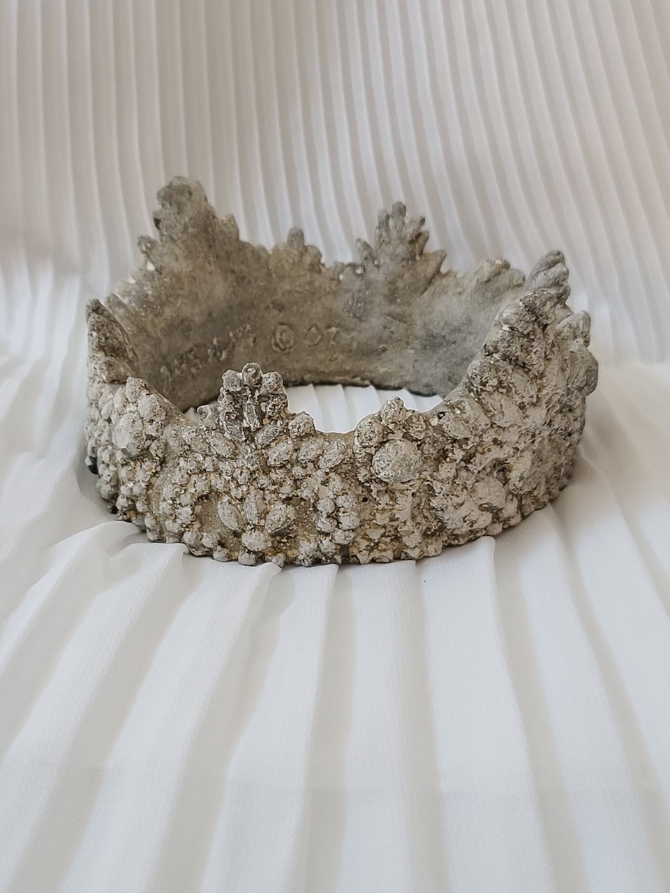 Large Decorative Cement Crown