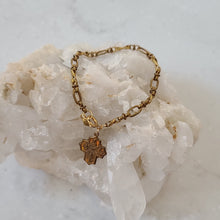 Load image into Gallery viewer, Gold Cross Bracelet