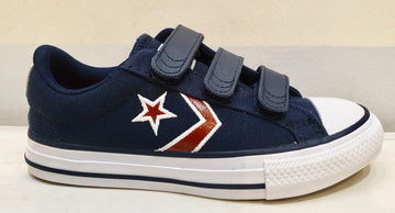 CONVERSE STAR PLAYER velcri blu cotone
