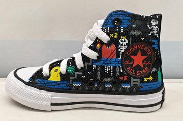 CONVERSE ALL STAR nera alta games