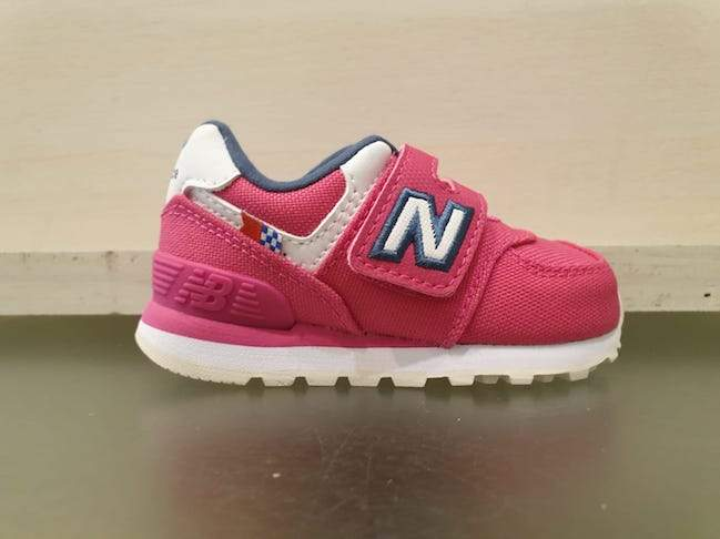NEW BALANCE 574 velcro running in tela