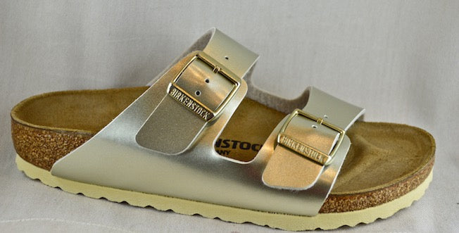 BIRKENSTOCK Arizona due fasce silver o gold