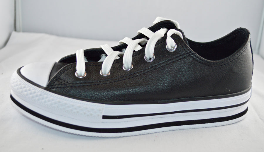 CONVERSE ALL STAR lacci basse ecopelle