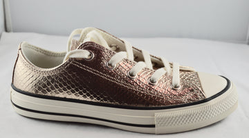 CONVERSE ALL STAR lacci bassa oro
