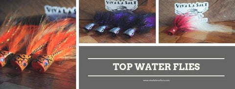 Top Water Flies