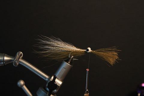 olive buck tail clouser