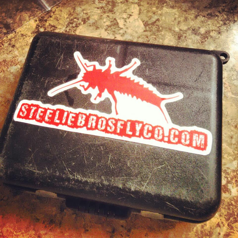 Steelie Bros Custom Cut Stone Sticker