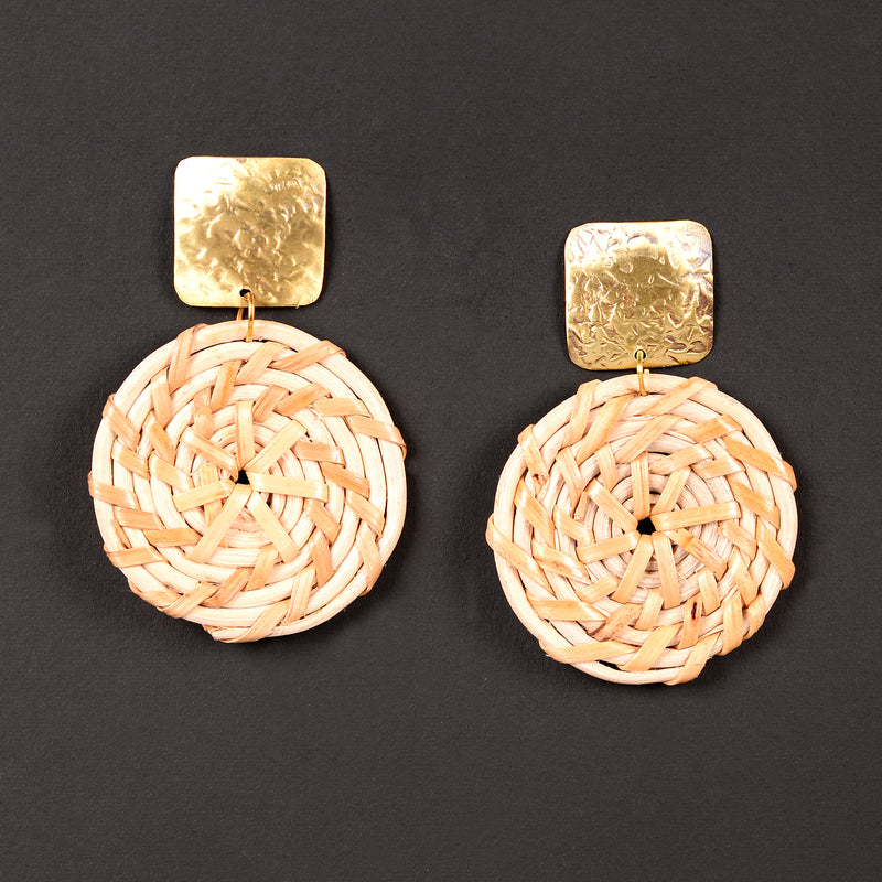 Jute Hanging Earrings