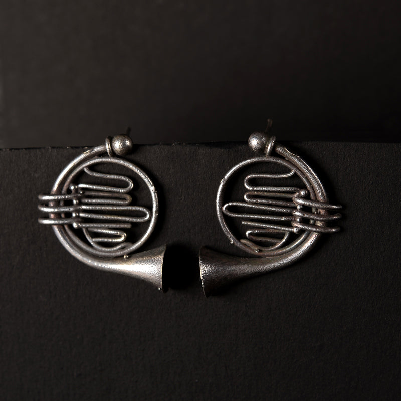 Oxidised Earrings