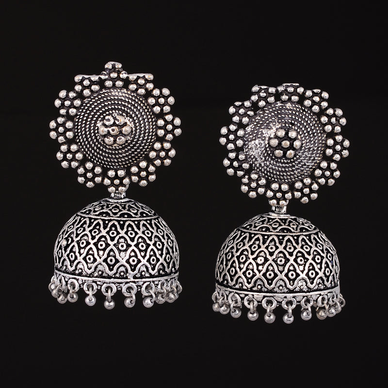 Jhumki oxidised Earrings