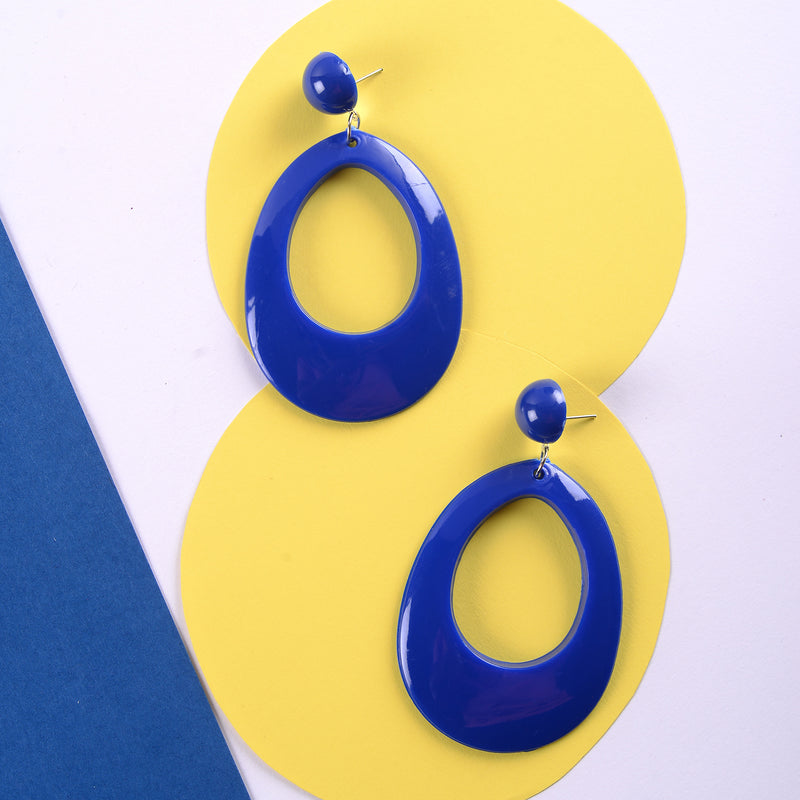 Blue pop Earring
