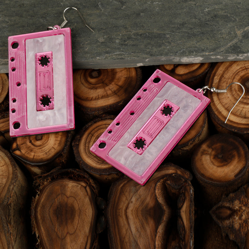 Hip hop Music Earrings