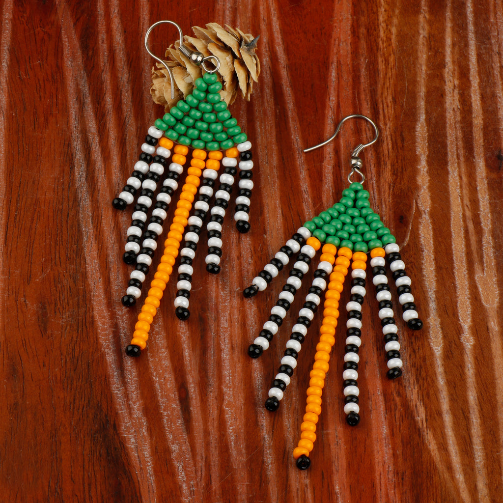 Beady Earrings