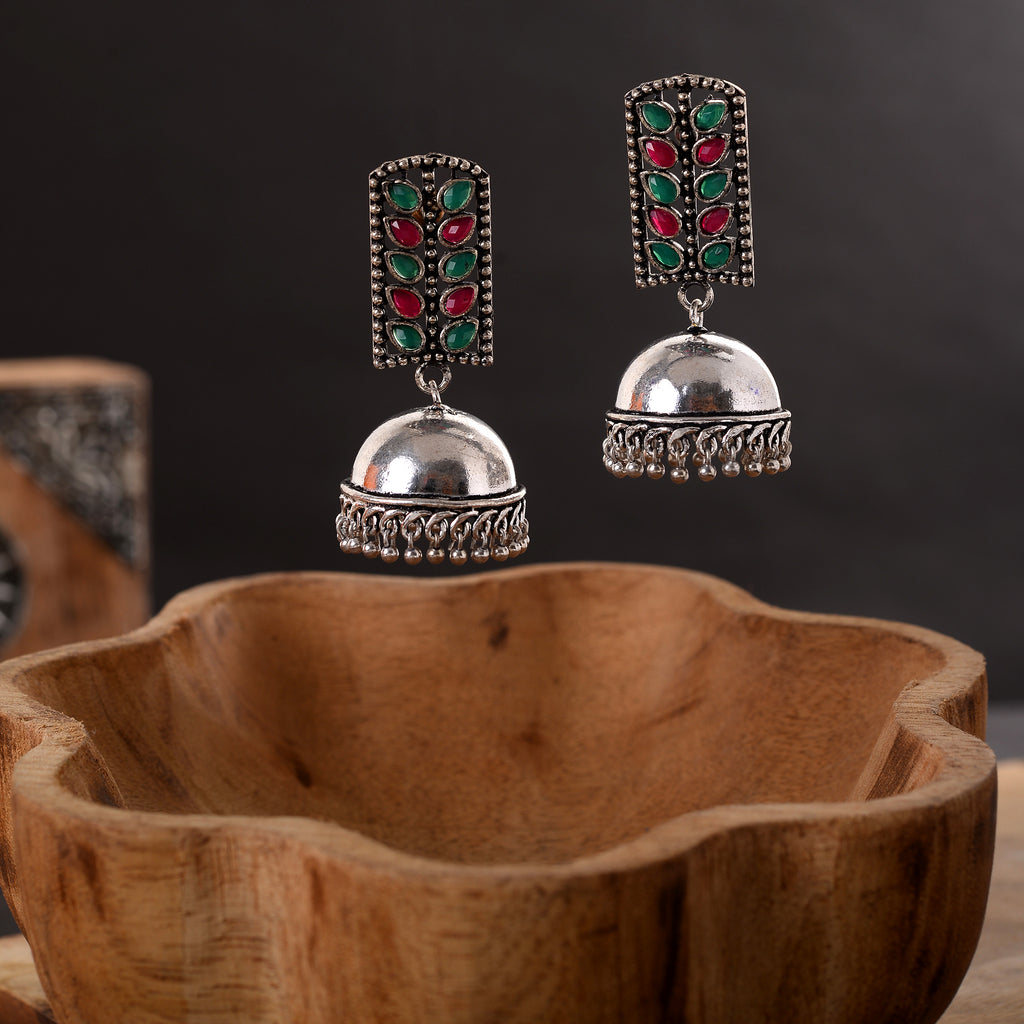 Modern look Jhumki Earrings