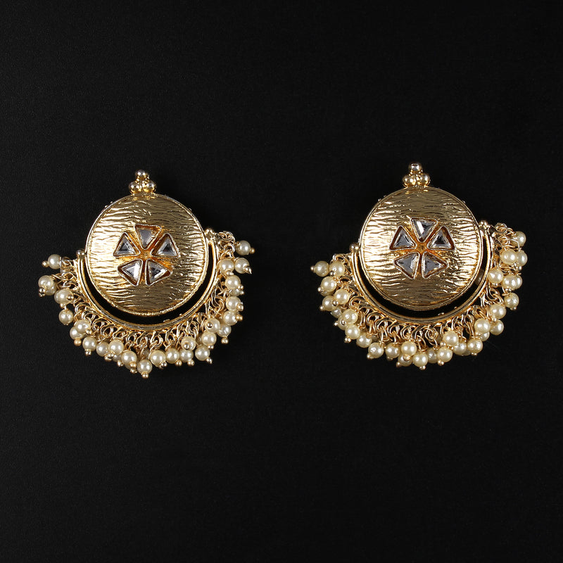 Matty Kundan Earrings