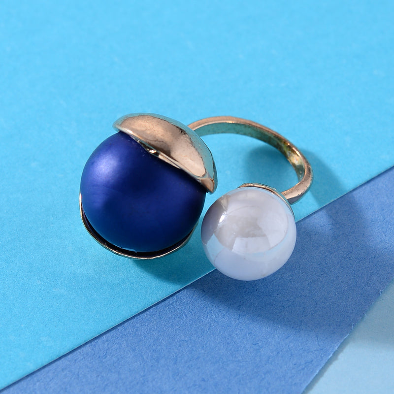 Roundy Roundy Bally adjustable Rings