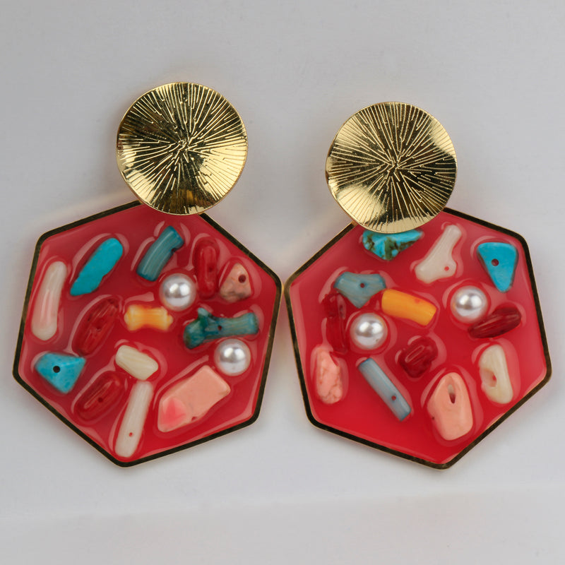 Red Merry Earrings