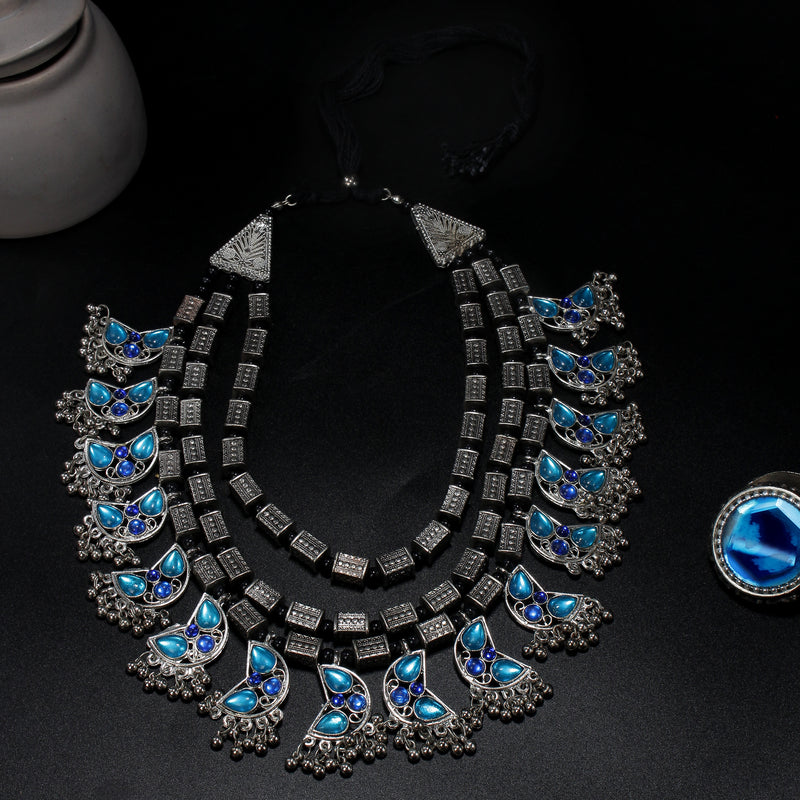 Multilayer Tribal necklace