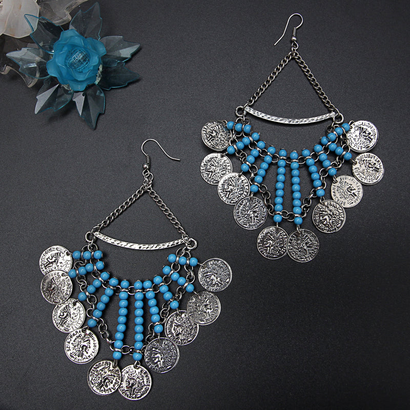 Coin hanging Earring