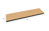 "Bulk Shelving Extra Shelf 1500 lb. Capacity - 3/4"" Particle Board Decking"