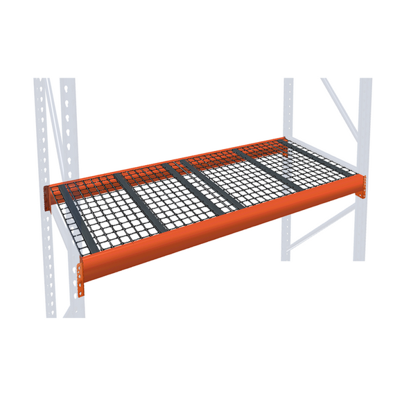 Pallet Rack Extra Level with Wire Mesh Decking