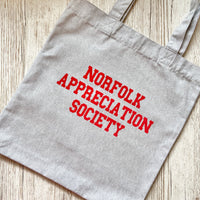 Norfolk Appreciation Society Tote Bag - Glitter & Mud