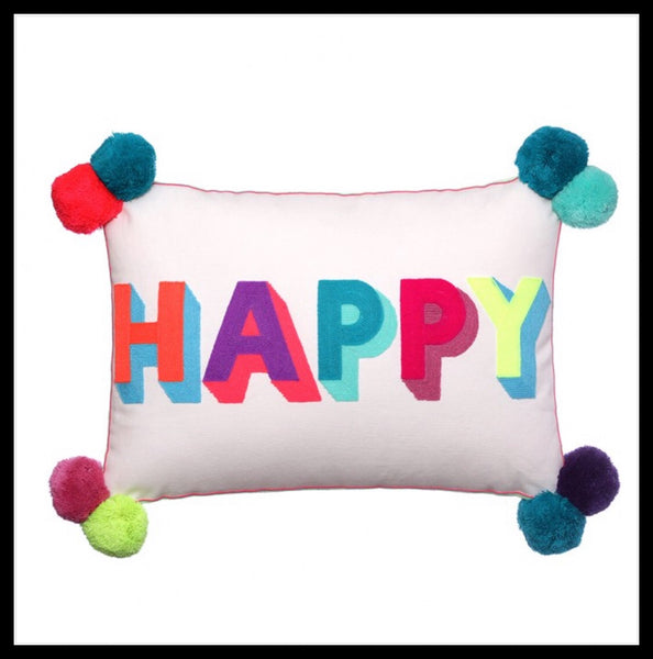 Happy Cushion - Glitter & Mud