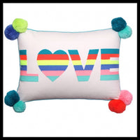 Love Cushion - Glitter & Mud