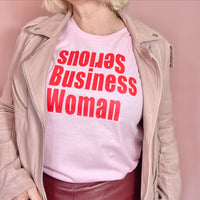 Serious Business WomanT-Shirt