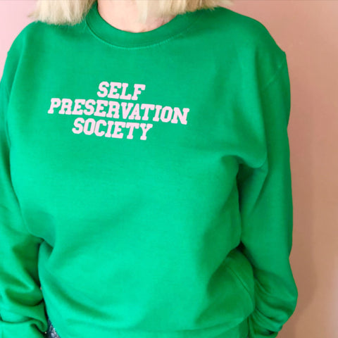 Self Preservation Society Jumper - Glitter & Mud