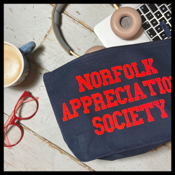 Norfolk Appreciation Society Large Everything Pouch - Glitter & Mud