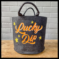 Small Lucky Dip Felt Storage Basket