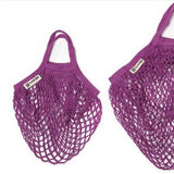 Purple  Kids Turtle Bag - Glitter & Mud