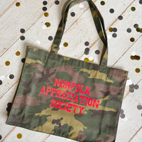 Norfolk Appreciation Society Camouflarge Shopping Bag