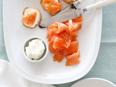 Vanilla Cured Salmon