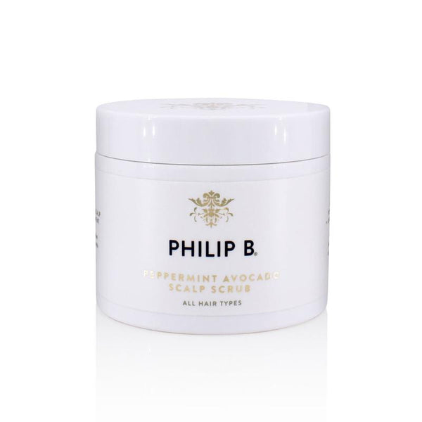 Philip B Peppermint Avocado Scalp Scrub