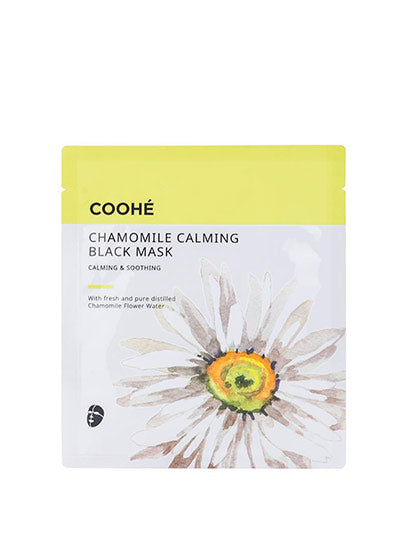 COOHÉ - Chamomile Calming Black Mask - Calming & Soothing